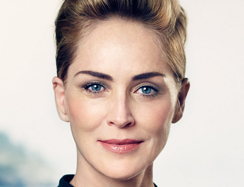 Sharon Stone is the new face of Galderma!